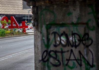 Etnografía Visual .10 años de guerra contra el narcotráfico en México: Marcas, Monumentos y Antimonumentos.